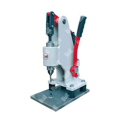 RIV2100-Manual toggle press for selfcliching pressure