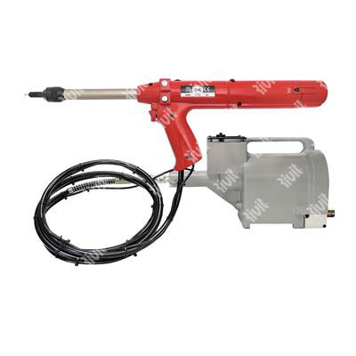 RIV300-Hydropneumatic tool for speed rivets withou (kit available on request from d. 3,2 to d.4,8)